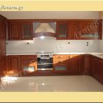 Κουζίνα από τεχνογρανίτη Bianco Canvas