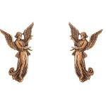 Άγγελοι Υμνούντες μπρονζέ_ορειχάλκινοι (Υψ.16ΧΠλ.10) κωδ.36-342 και 35-342