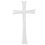 Σταυρός λευκός_αλουμινίου (Υψ.43ΧΠλ.22,5) κωδ.108.9