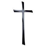 Σταυρός μαύρος_ορειχάλκινος (Υψ.45ΧΠλ.20) κωδ.21-2247