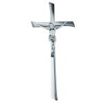 Σταυρός με τον Εσταυρωμένο σατινέ_ορειχάλκινος (Υψ.45ΧΠλ.20) κωδ.20-7247