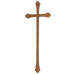 Σταυρός παλαιωμένος_αλουμινίου (Υψ.43ΧΠλ.16) κωδ.108.7