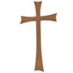 Σταυρός παλαιωμένος_αλουμινίου (Υψ.43ΧΠλ.22,5) κωδ.108.9