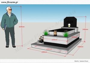 Προοπτικό μνημείου ενδιάμεσου μεγέθους