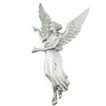 Άγγελος Υμνών χρωμίου_ορειχάλκινος (Υψ.45ΧΠλ.24) κωδ.35-6345