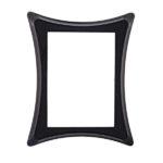 Κορνίζα τετράγωνη μαύρη_αλουμινίου (Υψ.18ΧΠλ.13) κωδ.105.5