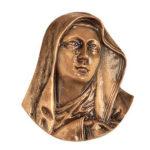 Προτομή Κλαίουσας Παναγίας μπρονζέ (Υψ.21ΧΠλ.18) κωδ.35-335