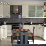 Κουζίνα από γρανίτη Emerald Pearl & ψηφίδα