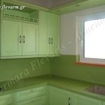 Κουζίνα από χαλαζιακό πέτρωμα Quarella