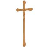 Σταυρός με τον Εσταυρωμένο μπρονζέ_αλουμινίου (Υψ.43ΧΠλ.16) κωδ.118.7