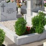 Ταφικό μνημείο κανονικού μεγέθους με μάρμαρο
