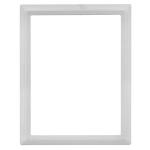 Κορνίζα τετράγωνη λευκή_αλουμινίου (Υψ.18ΧΠλ.13) κωδ.105.7