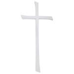 Σταυρός άσπρος_ορειχάλκινος (Υψ.45ΧΠλ.20) κωδ.21-1247