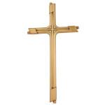 Σταυρός βερνίκι_ορειχάλκινος (Υψ.23,5ΧΠλ.12) κωδ.109.2 ή (Υψ.45ΧΠλ.23) κωδ.108.2