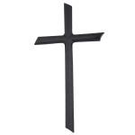Σταυρός μαύρος_αλουμινίου (Υψ.44ΧΠλ.24) κωδ.108.4