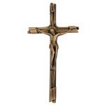 Σταυρός με τον Εσταυρωμένο αντικέ_ορειχάλκινος (Υψ.23,5ΧΠλ.12) κωδ.109.4 ή (Υψ.45ΧΠλ.23) κωδ.118.2