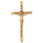 Σταυρός με τον Εσταυρωμένο βερνίκι_ορειχάλκινος (Υψ.23,5ΧΠλ.12) κωδ.109.4 ή (Υψ.45ΧΠλ.23) κωδ.118.2