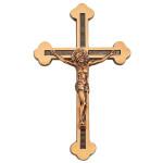 Σταυρός με τον Εσταυρωμένο μπρονζέ_ορειχάλκινος (Υψ.20ΧΠλ.13) κωδ.20-213