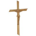 Σταυρός με τον Εσταυρωμένο μπρονζέ_αλουμινίου (Υψ.22ΧΠλ.12) κωδ.109.7 ή (Υψ.44ΧΠλ.24) κωδ.118.4