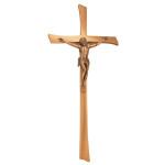 Σταυρός με τον Εσταυρωμένο μπρονζέ_ορειχάλκινος (Υψ.45ΧΠλ.20) κωδ.20-247