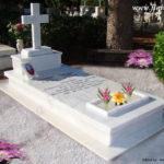 Ταφικό μνημείο κανονικού μεγέθους (Κωδ. Ρόδος Catholic Κ. 001)