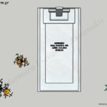 Προσχέδιο απλού ταφικού μνημείου