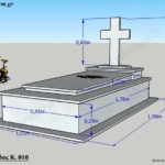 Προσχέδιο ταφικού μνημείου κανονικού μεγέθους (Κωδ. Ρόδος Κ. 010)