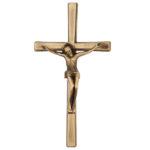 Σταυρός με τον Εσταυρωμένο αντικέ_ορειχάλκινο (Υψ.33ΧΠλ.16) κωδ.118.5 ή (Υψ.44,5ΧΠλ.20,5) κωδ.118.3