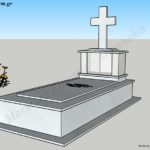 Προσχέδιο ταφικού μνημείου κανονικού μεγέθους (Κωδ. Ρόδος Κ. 011)